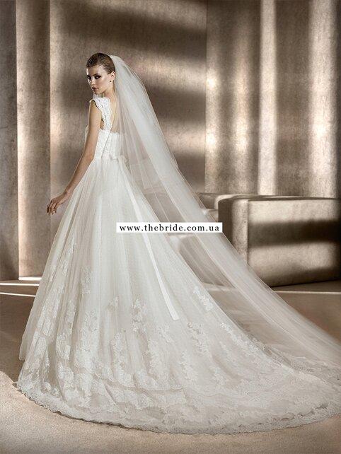 Подол свадебного платья пошив
